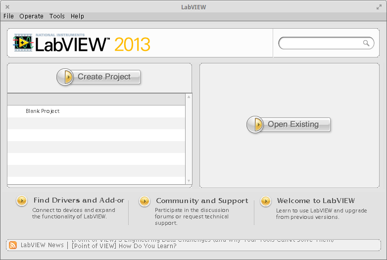LabVIEW 2013 running in Elementary OS